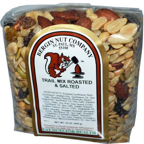Bergin Fruit and Nut Company, خليط مكسرات محمصة و مملحة، 16 أوقية (454 غرام)