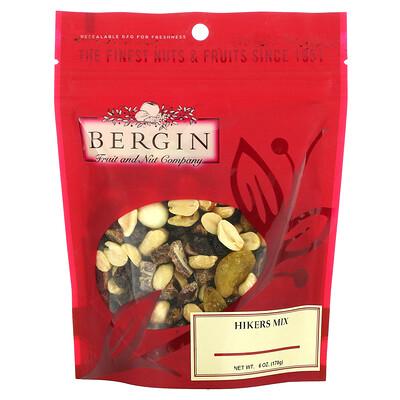 Купить Bergin Fruit and Nut Company Hikers Mix, 6 oz (170 g)