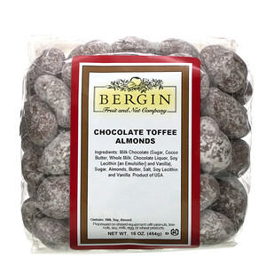 Бергин Фрут и Нат Кампани, Chocolate Toffee Almonds, 16 oz (454 g) отзывы покупателей