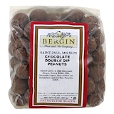 Отзывы о Bergin Fruit and Nut Company, Chocolate Double Dip Peanuts, 16 oz (454 g)