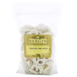 Bergin Fruit and Nut Company, Yogurt Pretzels, 10 oz (283 g)