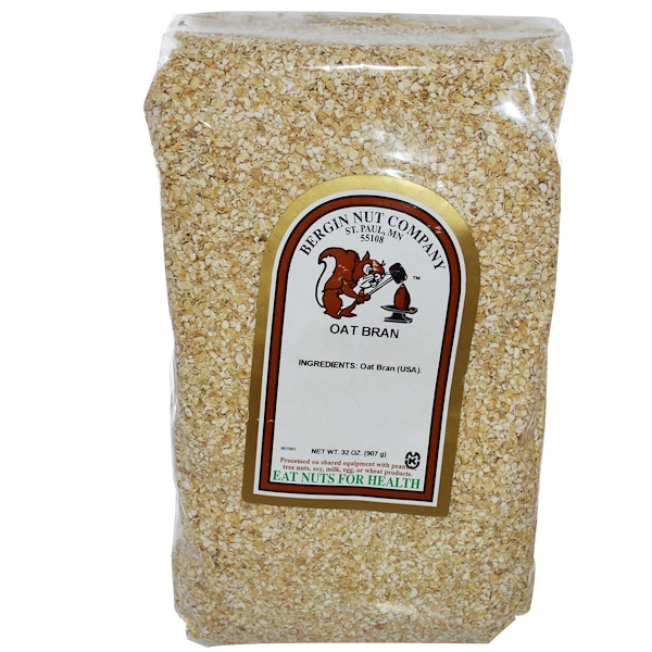 Bergin Fruit and Nut Company, Oat Bran, 32 oz (907 g) (Discontinued Item)