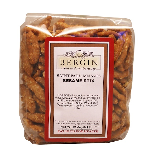 Bergin Fruit and Nut Company, Sesame Stix, 10 oz (283 g) (Discontinued Item)