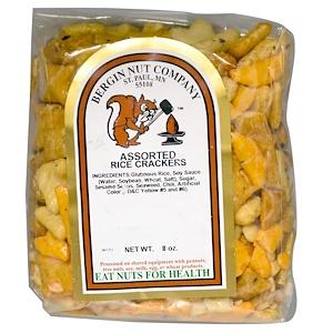 Бергин Фрут и Нат Кампани, Assorted Rice Crackers, 8 oz отзывы