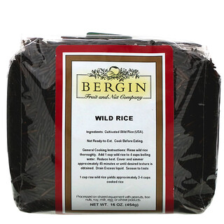 Bergin Fruit and Nut Company, Wild Rice, 16 oz (454 g)