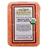 Bergin Fruit and Nut Company, Organic Red Lentil Beans, 16 oz (454 g)