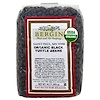 Bergin Fruit and Nut Company, Organic Black Turtle Beans, 16 oz (454 g)