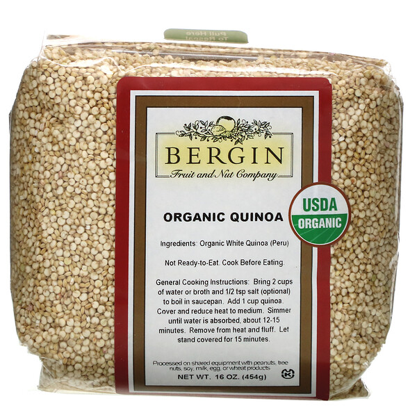 Organic Quinoa, 16 oz (454 g)