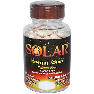 Би Фрэш Инк, Solar, Energy Gum, Caffeine Free, Sugar Free, Satellite Cinnamon, 100 Pieces отзывы