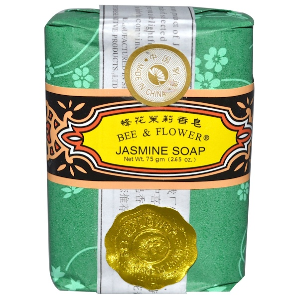Bee & Flower, Jasmine Soap, 2.65 oz (75 g) (Discontinued Item)