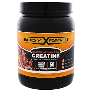 Body Fortress, Super Advanced Creatine, Fruit Punch, 2.2 lbs (998 g)