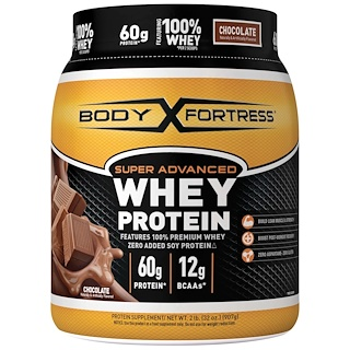 Body Fortress, Super Advanced Whey Protein, Chocolate, 2 lbs (907 g)