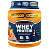 Body Fortress, Super Advanced Whey Protein Powder, Strawberry, 2 lbs (907 g)