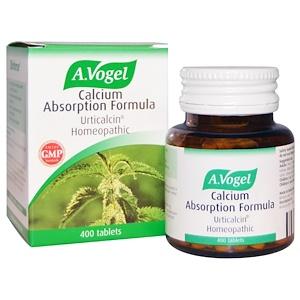 A Vogel, Формула усвоения кальция, артикальцин гомеопатический, 400 таблеток