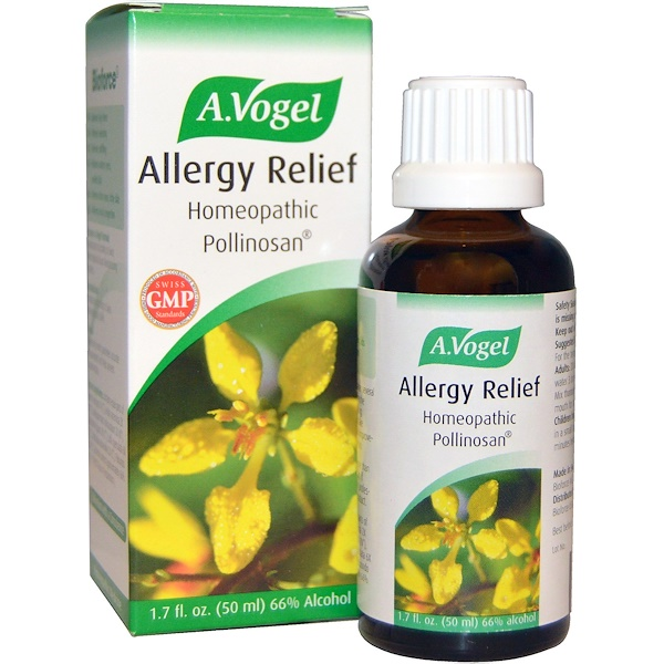 A Vogel, Allergy Relief, Homeopathic Pollinosan, 1.7 fl oz (50 ml) (Discontinued Item)