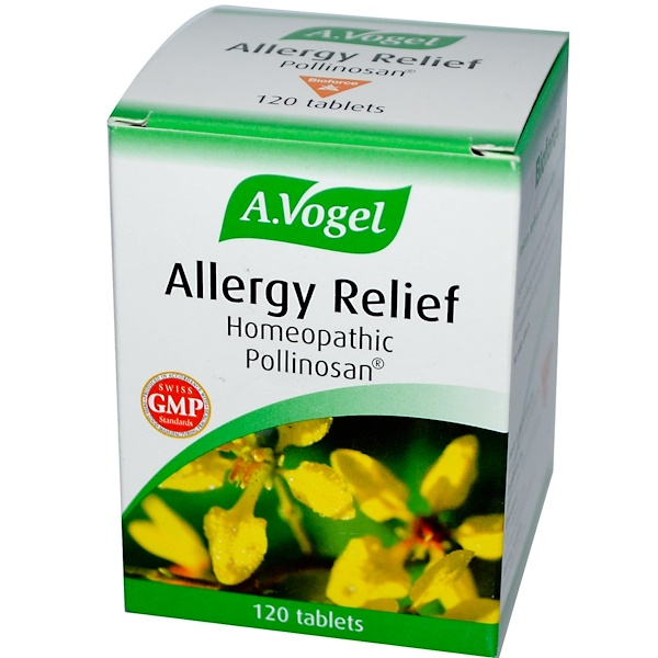 A Vogel, Allergy Relief, 120 Tablets (Discontinued Item)