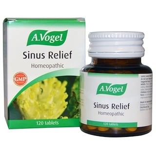 A Vogel, Sinus Relief, 120 Tablets