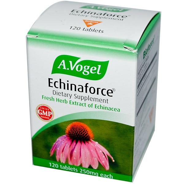 A Vogel, Echinaforce, 250 mg, 120 Tablets (Discontinued Item)