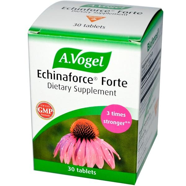 A Vogel, Echinaforce Forte, 30 Tablets (Discontinued Item)