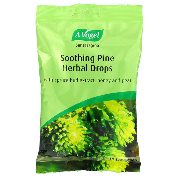 A Vogel, Soothing Pine Herbal Drops, 18 Lozenges (Discontinued Item)