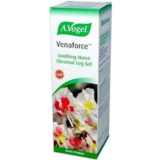A Vogel, ヴェナフォース、ホースチェスナット レッグ ジェル、3.5 fl oz (100 ml)