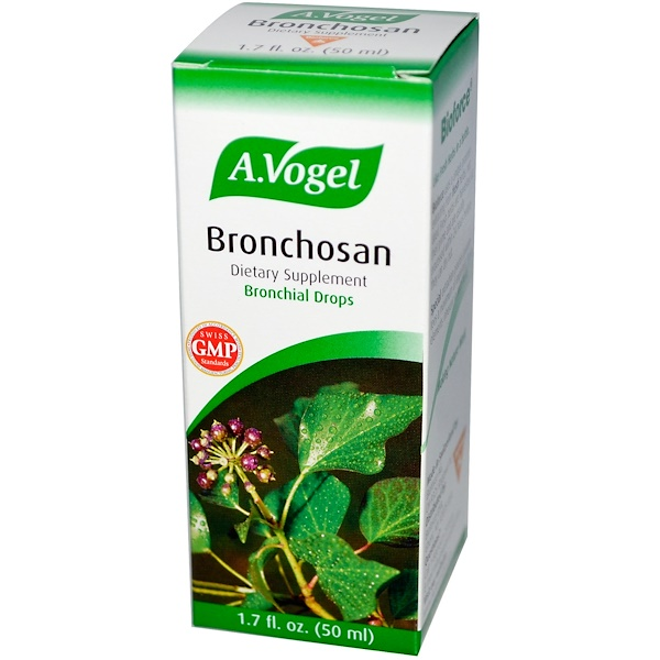 A Vogel, Bronchosan, Bronchial Drops, 1.7 fl oz (50 ml) (Discontinued Item)