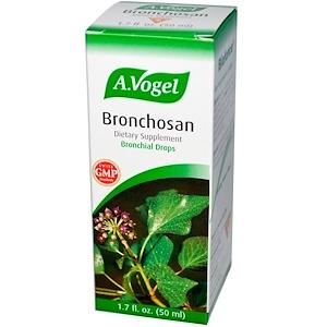 A Vogel, Bronchosan, капли для бронхов, 1,7 жидких унций (50 мл)