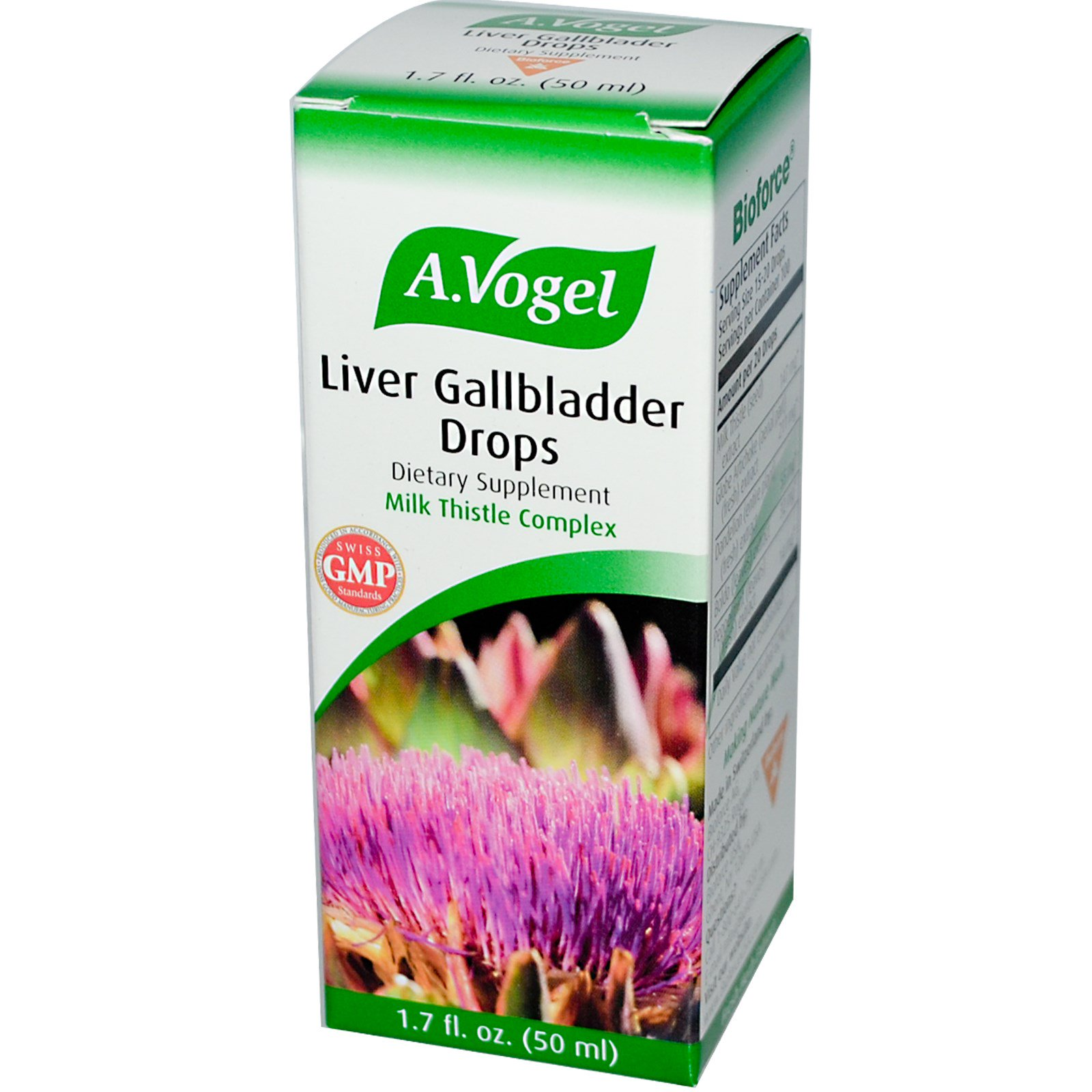 A Vogel, Liver Gallbladder Drops, 1,7 жидких унций (50 мл)
