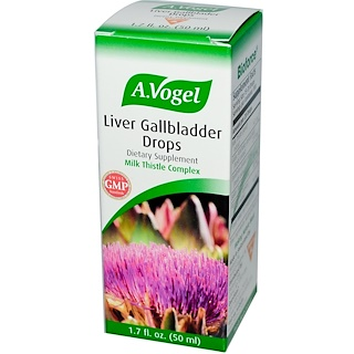 A Vogel, Liver Gallbladder Drops, 1.7 fl oz (50 ml)