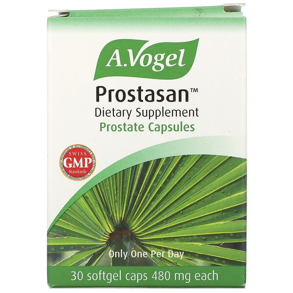 Prostasan, Prostate Capsules, 480 mg, 30 Softgel Caps