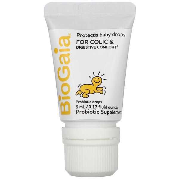 BioGaia, ProTectis, Baby, Digestive Health, Probiotic Supplement, 0.17 fl oz (5 ml)