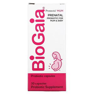 BioGaia, Protectis MUM, Prenatal Probiotic, 30 Capsules