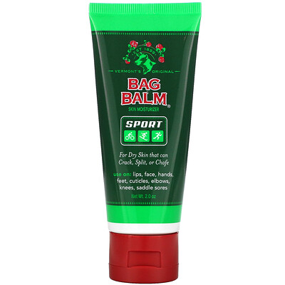 Купить Bag Balm Sport, Skin Moisturizer, Hand & Body, For Dry Skin, 2 oz