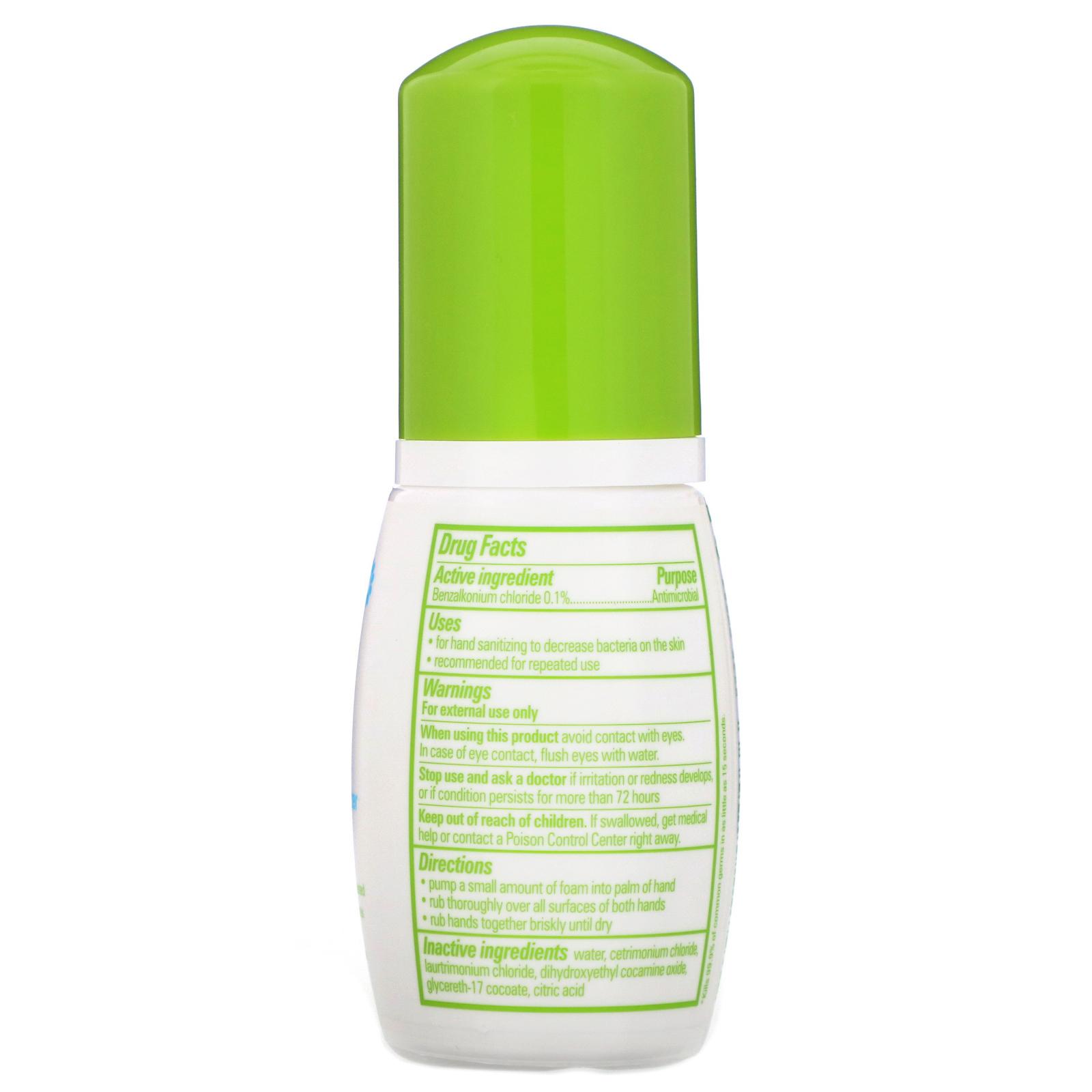 Babyganics Alcohol Free Foaming Hand Sanitizer Fragrance Free