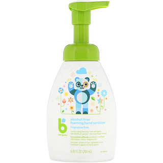 BabyGanics, Foaming Hand Sanitizer, Alcohol Free, Fragrance Free, 8.45 fl oz (250 ml)