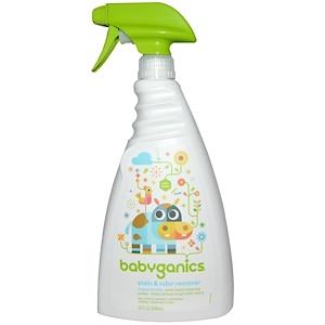 БэбиГаникс, Stain & Odor Remover, Fragrance Free, 32 fl oz (946 ml) отзывы покупателей