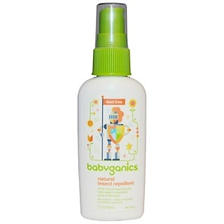 BabyGanics, Repelente Natural de Insetos, 2 fl oz (59 ml)