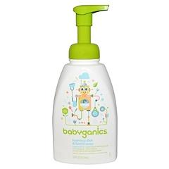 BabyGanics, Foaming Dish & Bottle Soap, Fragrance Free, 16 fl oz (473 ml)