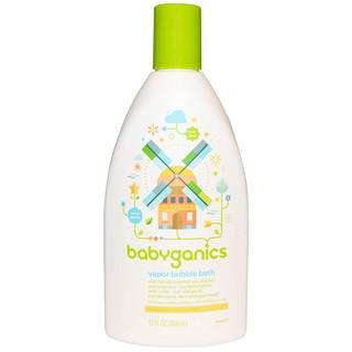 BabyGanics, Baño de espuma vapor, 354 ml (12 fl oz)