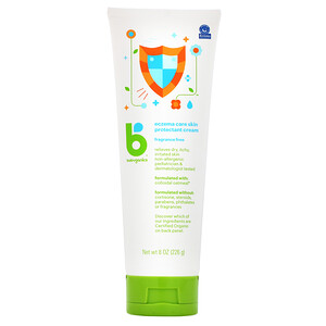 БэбиГаникс, Eczema Care Skin Protectant Cream, 8 oz (226 g) отзывы покупателей