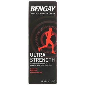 Бенгэй, Topical Analgesic Cream, Ultra Strength, 4 oz (113 g) отзывы