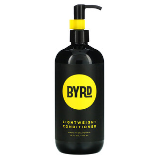 Byrd Hairdo Products, Lightweight Conditioner, All Hair Types, Salty Coconut, 16 fl oz (473 ml)