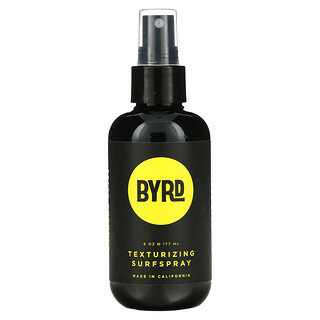 Byrd Hairdo Products, Texturizing Surfspray, Salty Coconut, 6 oz (177 ml)