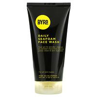 Byrd Hairdo Products, Daily Seafoam Face Wash, Salty Coconut, 5 oz (147.8 ml)