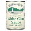 Bar Harbor, New England Style White Clam Sauce, 10.5 oz (297 g)