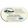 Bar Harbor, Skinless, Boneless Smoked Sardine Fillets, 6.7 oz (190 g)