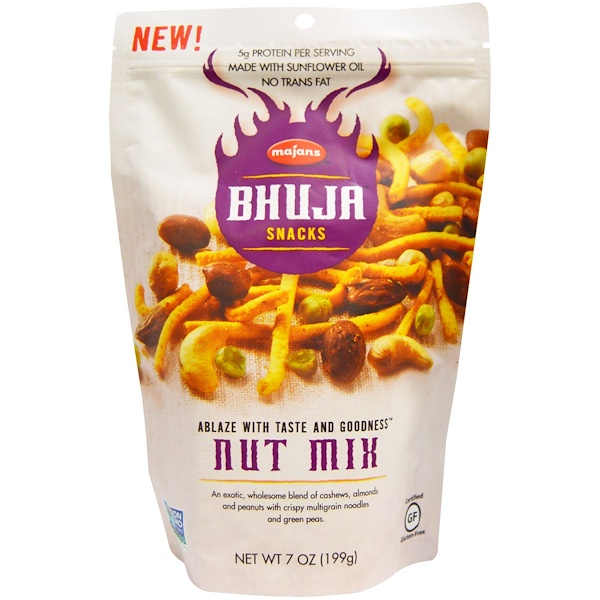 Bhuja, Nut Mix, 7 oz (199 g) (Discontinued Item)