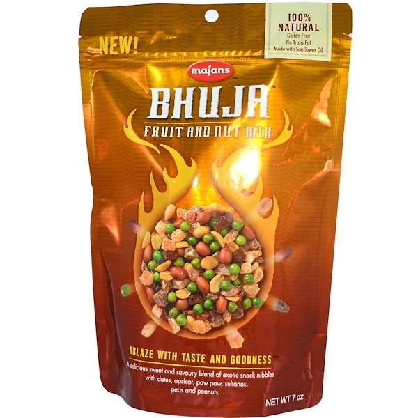 Bhuja, Fruit and Nut Mix, 7 oz (199 g) (Discontinued Item)