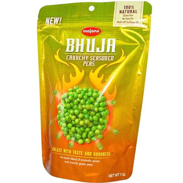 Bhuja, Crunchy Seasoned Peas, 7 oz (199 g) (Discontinued Item)
