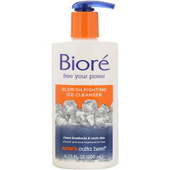 Biore, Blemish Fighting Ice Cleanser, 6.77 fl oz (200 ml)